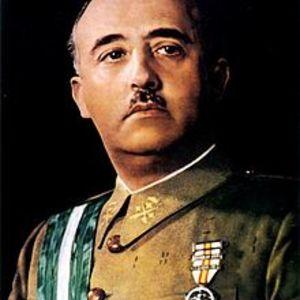 portrait officiel du Général franco - 1936