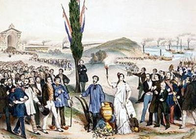 L'établissement définitif du suffrage universel masculin en 1848