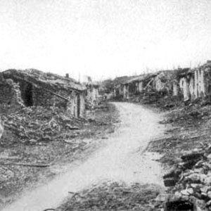 Ruines de Fleury-sous-Douaumont (printemps 1916)