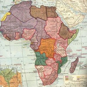 L'Afrique colonisée, Franz Schrader, Louis Gallouedec, Atlas classique, Hachette, 1947.