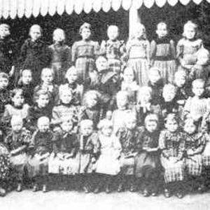 classe en 1880