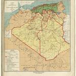 Gouvernement général de l'Algérie. Direction de l'Agriculture, du Commerce et de la Colonisation. Service cartographique. Algérie. Carte administrative des territoires du Sud / dessinée par M. E. Farnet