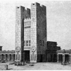 Une reconstitution du temple de Salomon des indications bibliques qui ne correspondent pas forcément aux réalités archéologiques