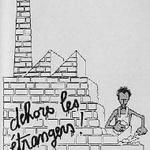 Un dessin de Plantu dans les années 1980