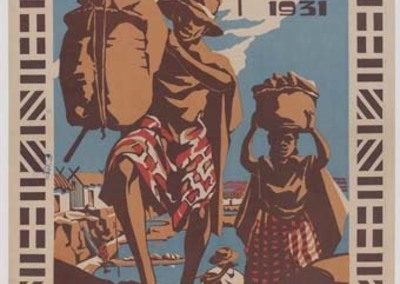 Exposition Coloniale Internationale, Paris 1931 - Section de Madagascar : [affiche] / Razana Maniraka