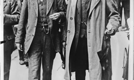 Ouverture de la conférence [de la paix] de Dublin, Sir Horace Plunkett et Sir Thomas Ardle [i. e. MacArdle] : [photographie de presse] / [Agence Rol]