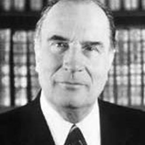 François Mitterrand, président en 1981-1988 et 1988-1995