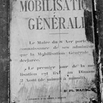 L'année 1914 : la déclaration de guerre