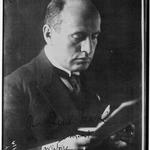 Mussolini (portrait) : [photographie de presse] / Agence Meurisse