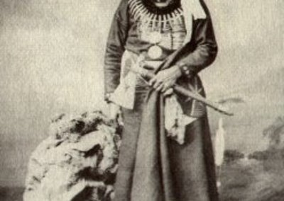 Luther Standing Bear (Ours debout) - Ma chú-Na zhí, chef sioux Ponca (c. 1833/1839-1908)
