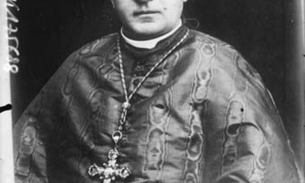 Cardinal [Achille] Ratti [portrait du futur pape Pie XI lié à son éléction au conclave du 6 février 1922] : [photographie de presse] / [Agence Rol]