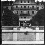 Société des Nations : Genève : vue avec la plaque Wilson / Agence Meurisse